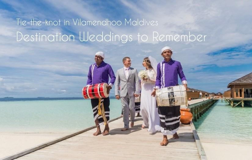 Vilamendhoo Maldives Weddings