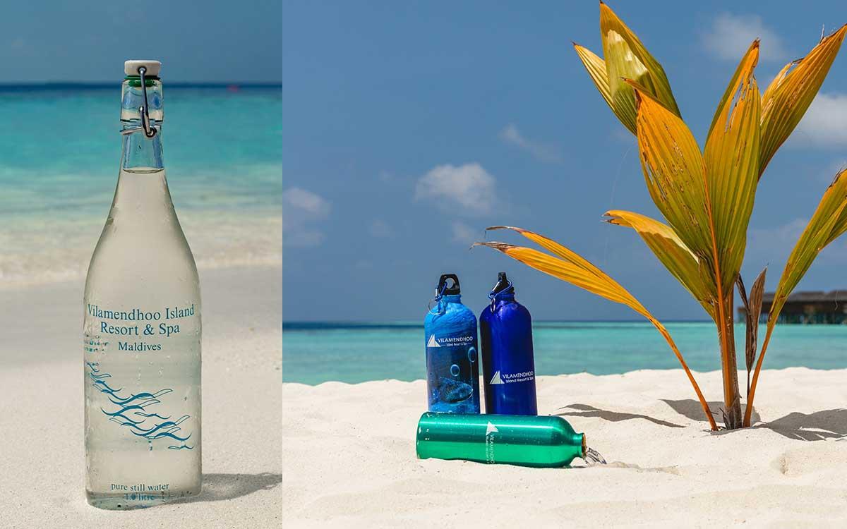 Eco Bottles at Vilamendhoo Maldives
