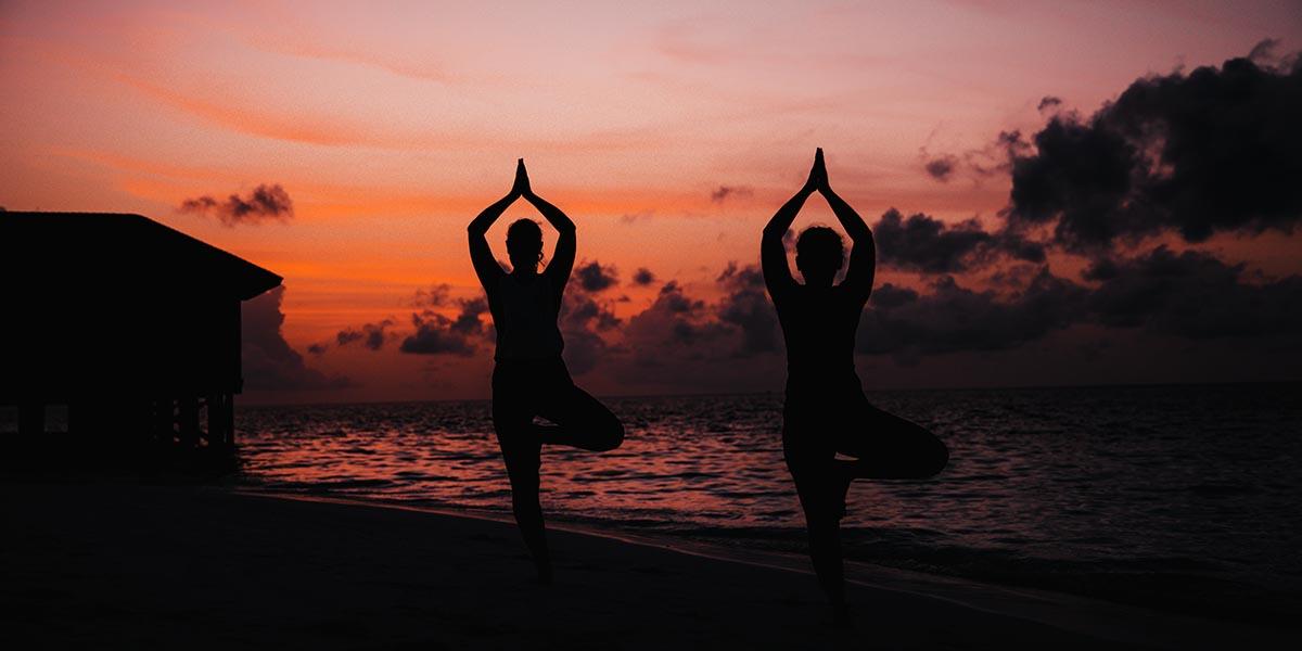 Mother's Day Weekend - Beach Yoga at Vilamendhoo Maldives