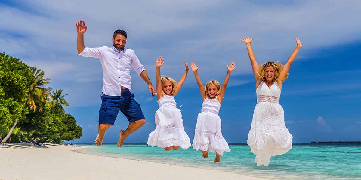 Mother's Day Weekend - Family Photoshoot at Vilamendhoo Maldives