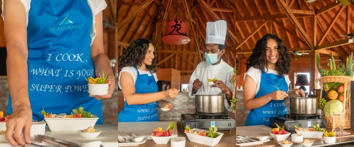 Be The Chef - Healthy Cooking Class at Vilamendhoo Maldives