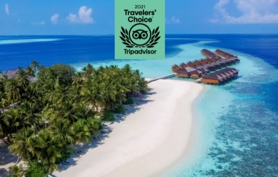 Vilamendhoo Maldives is a 2021 Tripadvisor Travellers Choice Award Winner