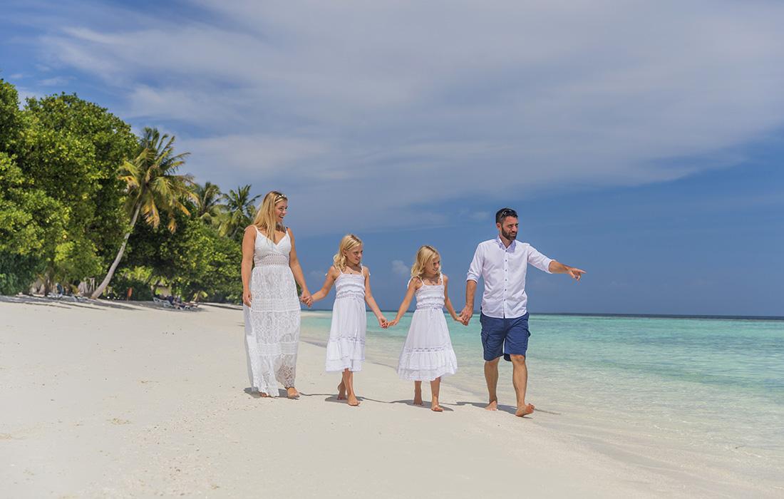 Family Holiday at Vilamendhoo Maldives