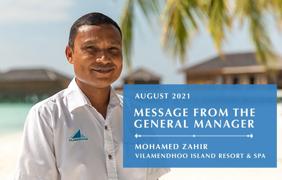 Vilamendhoo - GM Message