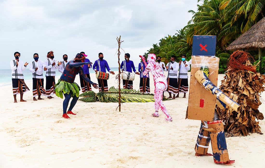 World Tourism Day - Maali Parade at Vilamendhoo Maldives
